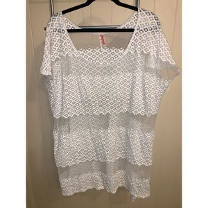 Free People shirt/coverup